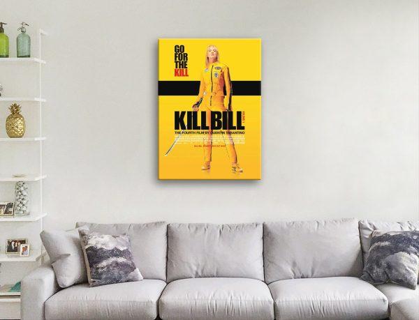 Buy Ready to Hang Kill Bill Vol 1 Canvas Art AU