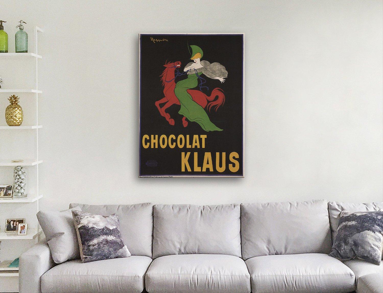 Klaus Chocolate Canvas Artwork