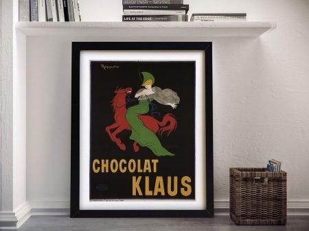 Klaus Chocolate Framed Wall Art