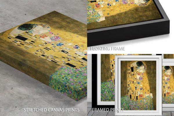 Klimt The Kiss Quality Print