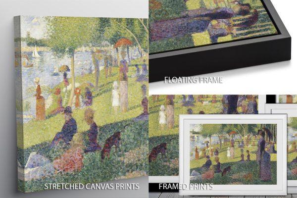 La Grande Jatte Georges Seurat Quality Image Print