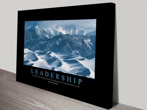 Leadership Motivational Art for Businesses