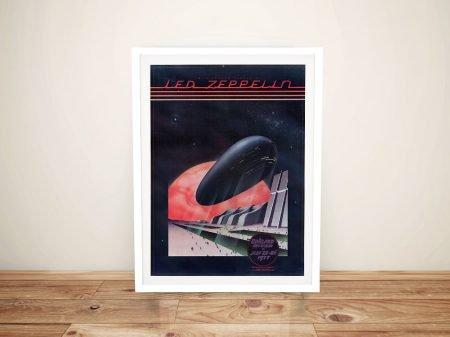 Buy a Led Zeppelin Uncut Tour Poster Print