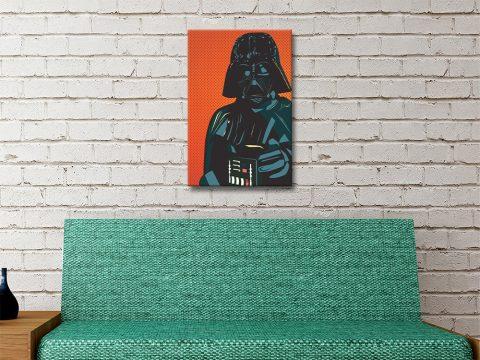 Affordable Lichtenstein Darth Vader Print