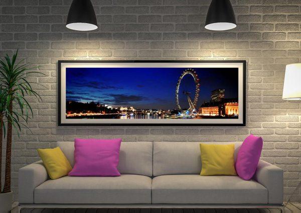 Buy a London Skyline Panoramic Print