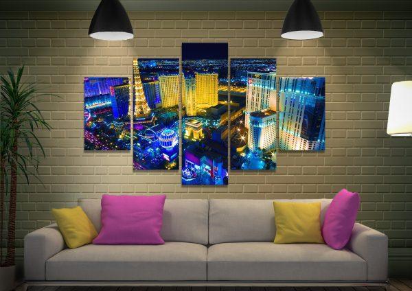 Multi-Panel Skyline Wall Art Unique Gifts AU