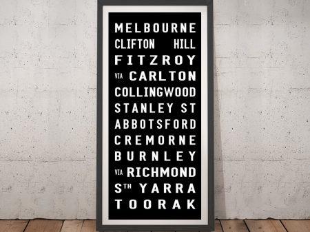 Buy Melbourne Tram Scroll Art