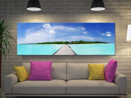 Maldives Paradise Canvas Print
