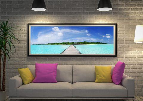 Maldives Framed Art
