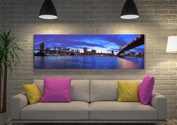 Buy a Panoramic Print of the Manhattan Skyline