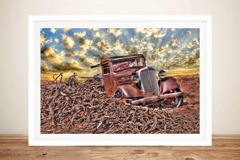 Old Car Framed Wall Art