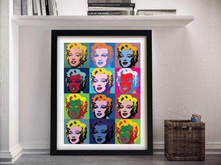 Buy Marilyn Monroe Wall Art by Warhol