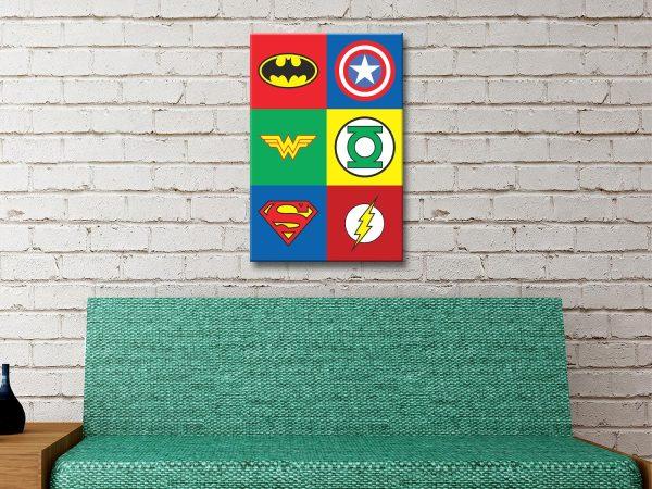 Marvel Canvas Artwork