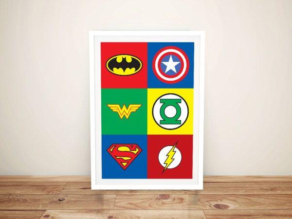 Marvel Framed Wall Art