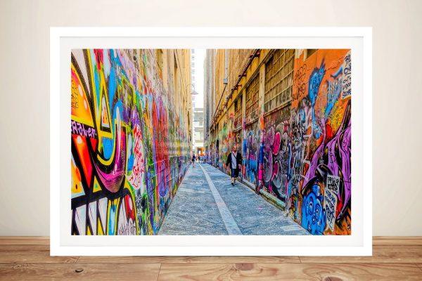 Buy Melbourne Graffiti Striking Street Art Prints