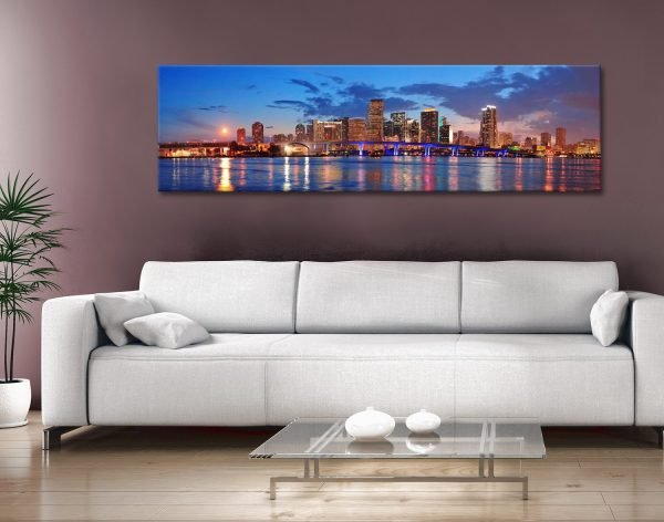 Buy Miami Panoramic Art Great Gift Ideas Online