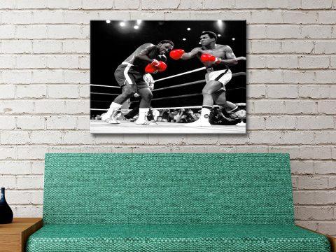 Muhammad Ali pop art Australia
