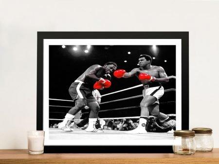 Muhammad Ali pop art Framed Picture
