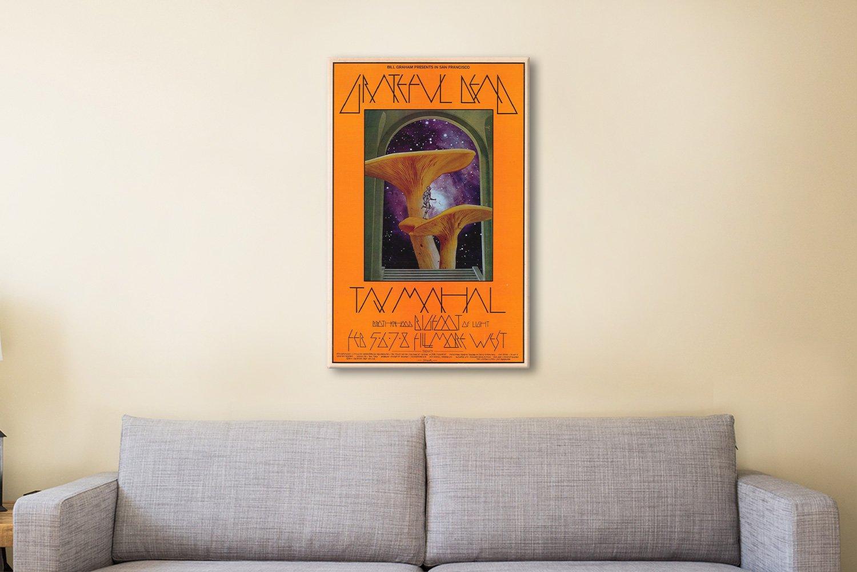Mushroom Man Poster Canvas Artwork