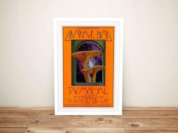 Mushroom Man Poster Framed Artwork