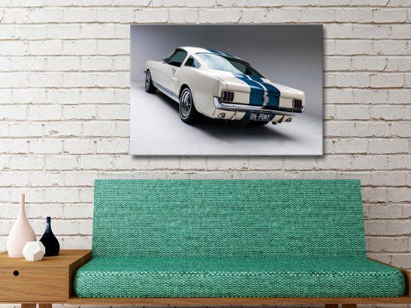 Mustang Blade Art Print Great Gift Ideas AU