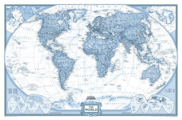Buy World Map Wall Art