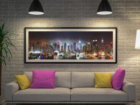 Buy a Panoramic Wall Art Print of the NYC Skyline
