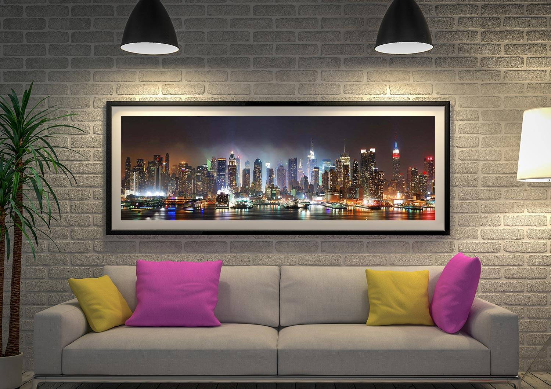 Newyork Skyline United States Watercolor illustrations Art Print Wall Wedding 2