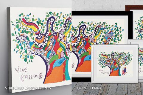 Niki De Saint Phalle vive lamour_ek Quality Print