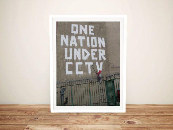 One Nation Graffiti Art Print Home Decor AU