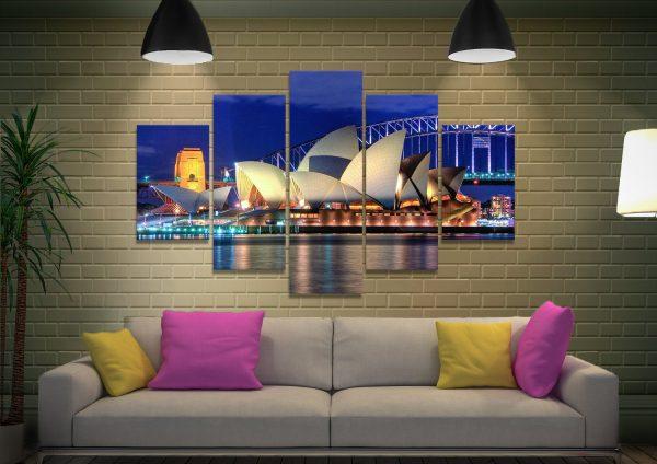 Ready to Hang Split Panel Australian Art