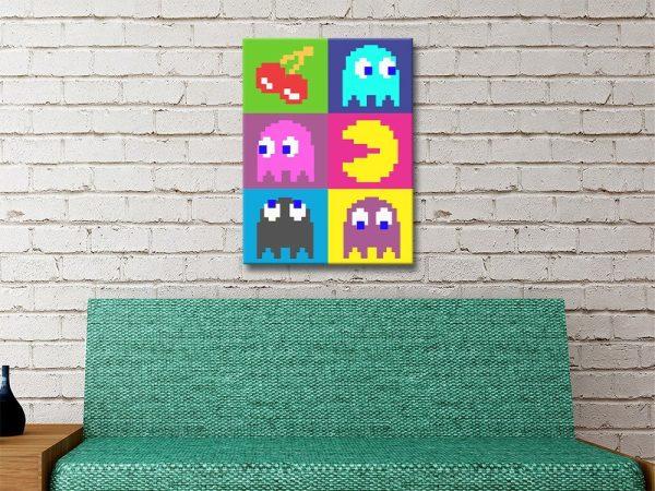 Pacman Wall Art Great Gift Ideas Online
