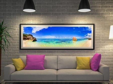 Buy Paradise Lost Panoramic Seascape Art