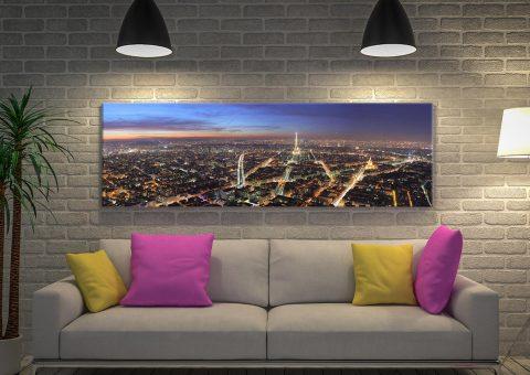 Buy Paris Skyline Panoramic Art Gift Ideas Online