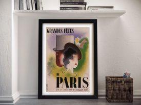 Buy Paris Art Deco Vintage Poster Prints