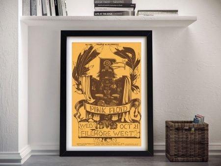Pink Floyd Poster Framed Art