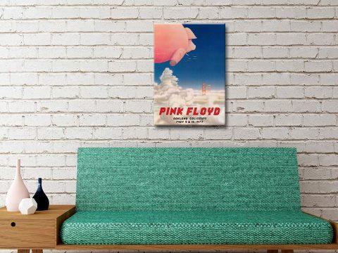 Pink Floyd Concert Poster Canvas Artwork