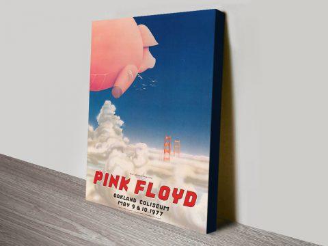 Pink Floyd Poster canvas print