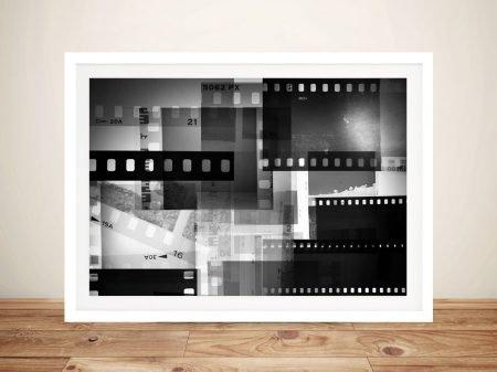 Buy Polaroid Abstract Framed Canvas Wall Art