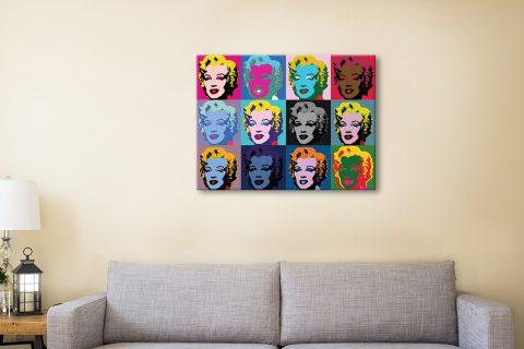 Buy Warhol's Marilyn Monroe Pop Art Print AU
