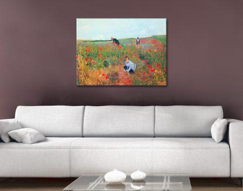 Poppy in the Field by Cassatt Great Gifts AU