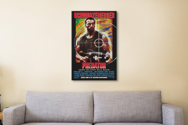Predator Movie Canvas Artwork