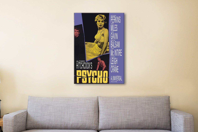 Psycho Movie Poster Movie Memorabilia AU
