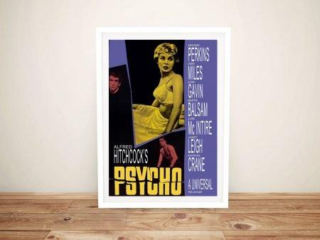 Buy a Vintage Framed Psycho Movie Poster