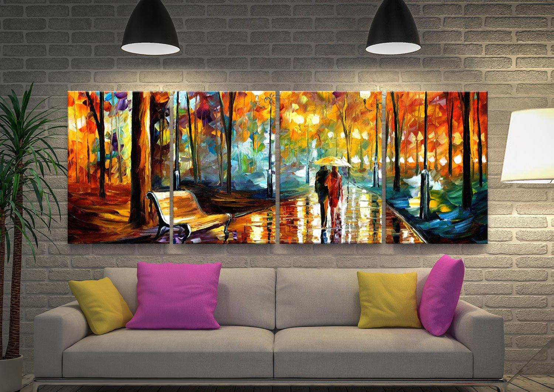 Ready to Hang Leonid Afremov Split Panel Art