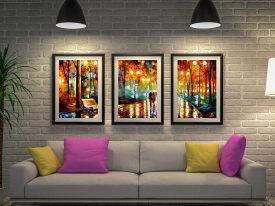 Buy Rain's Rustle Cheap Leonid Afremov Art AU