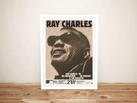 Buy a Ray Charles Concert Poster Print
