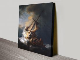 Buy a Print of The Storm on the Sea of Galilee