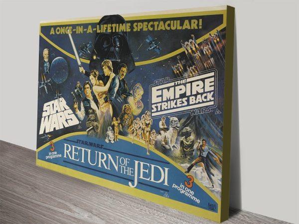 Affordable Vintage Star Wars Posters Online