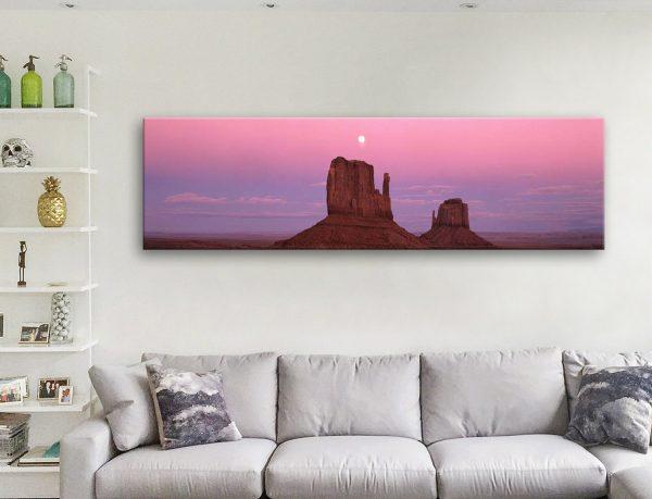 Buy Cheap Panoramic Art of a Colorado Sunset